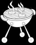grilling hamburger pics